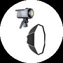 人物灯光(柔光箱)<br> 艾蒙拉AL-200D